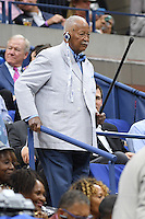 FLUSHING NY- SEPTEMBER 06: David Dinkins is seen watching Gael Monfils Vs Lucas Pouille on Arthur Ashe Stadium at the USTA Billie Jean King National Tennis Center on September 6, 2016 in Flushing Queens. Credit: mpi04/MediaPunch