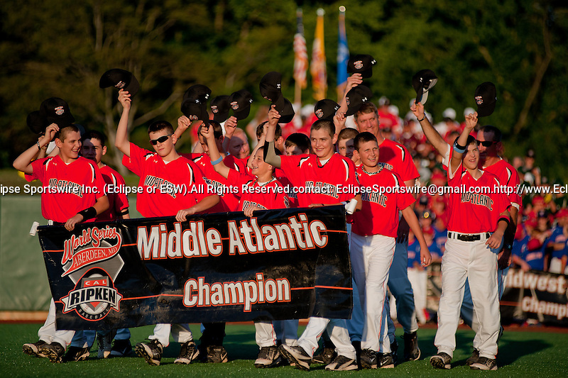Scenes from the opening ceremonies of the Cal Ripken Babe Ruth World Series in Aberdeen, Maryland on August 12, 2011