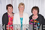 Margaret Brosnan Gneeveguilla, Anne Gleeson Gneeveguilla and Eileen McSweeney Kilcummin at the Pretty Polly reunion in the Malton on Sunday