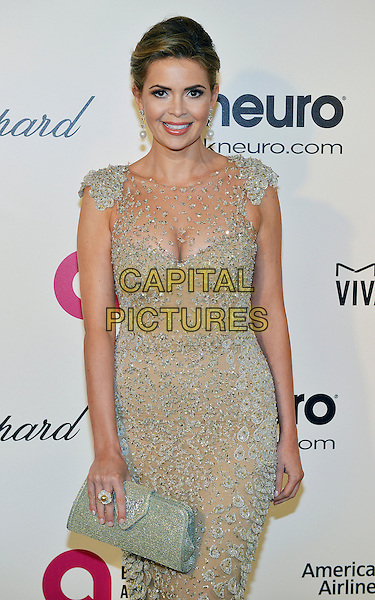 02 March 2014 - West Hollywood, California - Carly Steel. 22nd Annual Elton John Academy Awards Viewing Party held at West Hollywood Park.  <br /> CAP/ADM/CC<br /> &copy;ChewAdMedia/Capital Pictures