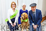 Anna Lynch, Bernadette Ryle, Michael Healy Rae (TD) and Marcel the dog (Ambassdor for the Irish Guide Dogs) attending the Dance in aid of Irish Guide Dogs For The Blind in the Meadowlands Hotel on Saturday night.