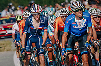 Romain Bardet (FRA/AG2R-LaMondiale)<br /> <br /> MEN ELITE ROAD RACE<br /> Kufstein to Innsbruck: 258.5 km<br /> <br /> UCI 2018 Road World Championships<br /> Innsbruck - Tirol / Austria