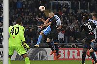 Maxime Le Marchand Nizza own goal autogol<br /> Roma 02-11-2017 Stadio Olimpico Uefa Europa League 2017/2018 Lazio - Nizza / Lazio - Nice Foto Antonietta Baldassarre / Insidefoto
