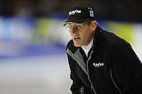 SCHAATSEN: HEERENVEEN: IJsstadion Thialf, 27-12-2014, NK Allround, Jillert Anema (trainer/coach Team Clafis), ©foto Martin de Jong