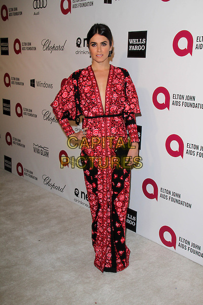 WEST HOLLYWOOD, CA - March 02: Nikki Reed at the 22nd Annual Elton John AIDS Foundation Oscar Viewing Party, Private Location, West Hollywood,  March 02, 2014. <br /> CAP/MPI/JO<br /> &copy;JO/MPI/Capital Pictures