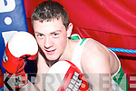 Ballybunion middleweight boxer Brian O'Connor (16), who will represent Ireland the international tournament in Spain next July.   Copyright Kerry's Eye 2008