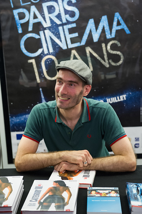 Julian Sévéon during the second day of Festival Paris Cinema 2012, held at the Forum des Images in Les Halles, Paris. Julian was signing copies of his new book; Category III, sexe, sang, et politique à Hong Kong. Friday 29th June 2012