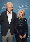 """Tony Roberts and Jamie deRoy attends The """"Frankie and Johnny in the Clair de Lune"""" - Opening Night Arrivals at the Broadhurst Theatre on May 29, 2019  in New York City."""