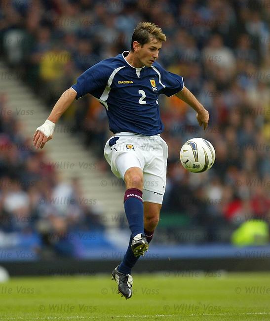 Jackie McNamara, Scotland.Stock season 2003-2004.pic willie vass