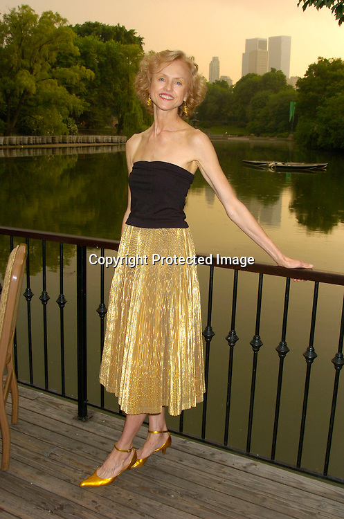 "Jill Larson ..at the ""Around The World with Urban Stages"" 20th annual benefit for Urban Stages on May 24, 2004 at the Boathouse ..in Central Park. ..Photo by Robin Platzer, Twin Images.."
