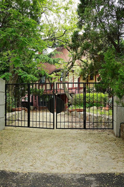British Consul's Residence, Post 1931.  The Front, Off-Street Entrance.  Badaguan, Qingdao (Tsingtao).