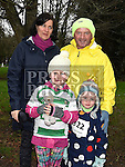 Tom, Annmarie, Caít and Aine Martin who took part in Erin's Run. Photo:Colin Bell/pressphotos.ie