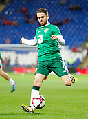 9th October 2017, Cardiff City Stadium, Cardiff, Wales; FIFA World Cup Qualification, Wales versus Republic of Ireland; Robbie Brady during the warm up for Republic of Ireland