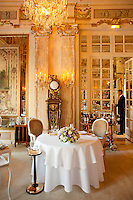 Dining room of the Louis XV restaurant at the Hotel de Paris, Monte Carlo, Monaco, 21 March 2013