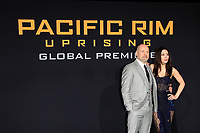 "LOS ANGELES - FEB 21:  Steven S. DeKnight, Jamie Slater at the ""Pacific Rim Uprising"" Premiere at the TCL Chinese Theater IMAX on February 21, 2018 in Los Angeles, CA"