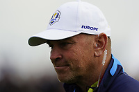 Thomas Bjorn (Team Europe Captain) on the 6th during the friday fourballs at the Ryder Cup, Le Golf National, Iles-de-France, France. 27/09/2018.<br /> Picture Fran Caffrey / Golffile.ie<br /> <br /> All photo usage must carry mandatory copyright credit (© Golffile | Fran Caffrey)
