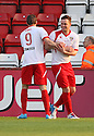 Jack Midson, Chris Beardsley. Mitchell Cole Benefit Match - Lamex Stadium, Stevenage - 7th May, 2013. © Kevin Coleman 2013. ..