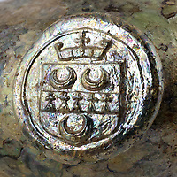 BNPS.co.uk (01202 558833)<br /> Pic: BBRAuctions/BNPS<br /> <br /> The bottles bear the seal of the Earl of Coventry <br /> <br /> A remarkable hoard of 17th century wine bottles have been dug up at a building site and are now tipped to sell for £20,000.<br /> <br /> The unlikely discovery was made by a workman in a JCB who was digging foundations at the site near Kinnersley, Worcs.<br /> <br /> He spotted one of them glistening in the sunshine and stopped his engine before going to investigate.<br /> <br /> In total, seven 8ins curved bottles were unearthed from the clay during construction last November.  They carry the seal of the Earl of Coventry who lived at the Croome Estate, which is less than a mile away from the site. <br /> <br /> The bottles are being sold with BBR Auctions, of Elsecar, South Yorks.