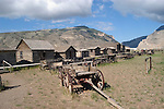 WY: Wyoming, Cody:.At Old Trail Town..Photo #: yellow774..Photo copyright Lee Foster, 510/549-2202, lee@fostertravel.com, www.fostertravel.com..