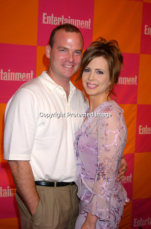 """Martha Byrne and husband Michael McMahon..at The Entertainment Weekly's """"The Must List"""" party at ..Crobar in New York City on June 17, 2004. ..Photo by Robin Platzer, Twin Images"""