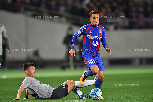 Kota Mizunuma (FC Tokyo), FEBRUARY 9, 2016 - Football / Soccer : AFC Champions League 2016 Play-off match between FC Tokyo 9-0 Chonburi FC at Tokyo Stadium in Tokyo, Japan. (Photo by AFLO)