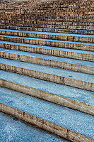 Steps in Blue