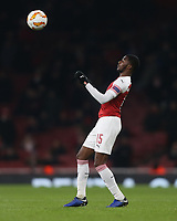 Arsenal's Ainsley Maitland-Niles<br /> <br /> Photographer Rob Newell/CameraSport<br /> <br /> UEFA Europa League Group E - Arsenal v FK Qarabag - Thursday 13th December 2018 - Emirates Stadium - London<br />  <br /> World Copyright &copy; 2018 CameraSport. All rights reserved. 43 Linden Ave. Countesthorpe. Leicester. England. LE8 5PG - Tel: +44 (0) 116 277 4147 - admin@camerasport.com - www.camerasport.com