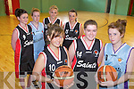 WILDCATS: Members of the Wildcats Basketball Club in Ballybunion which is seeking new members and volunteers, front l-r: Clodagh Meehan, Agnes Hitchen, Maebh Ferriter. Back l-r: Shauna Breen, Norma Houlihan, Sinead Breen, Louise Lawlor.
