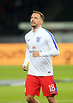 England's Danny Drinkwater warms up during the International Friendly match at Olympiastadion.  Photo credit should read: David Klein/Sportimage