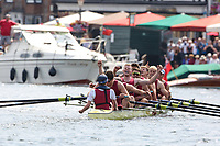 THE TEMPLE CHALLENGE CUP<br /> Northeastern University 'A', USA (117)<br /> Oxford Brookes University 'A' (121)<br /> <br /> Henley Royal Regatta 2019 - Sunday<br /> <br /> To purchase this photo, or to see pricing information for Prints and Downloads, click the blue 'Add to Cart' button at the top-right of the page.