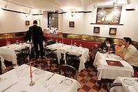 L'interno del ristorante Bistrot de Venice, a Venezia.<br /> Interior of Bistrot de Venice restaurant in Venice.<br /> UPDATE IMAGES PRESS/Riccardo De Luca
