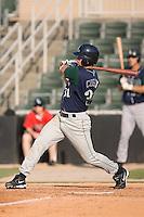 Third baseman Matthew Cusick (31) of the Lexington Legends follows through on his swing at Fieldcrest Cannon Stadium in Kannapolis, NC, Sunday June 15, 2008.