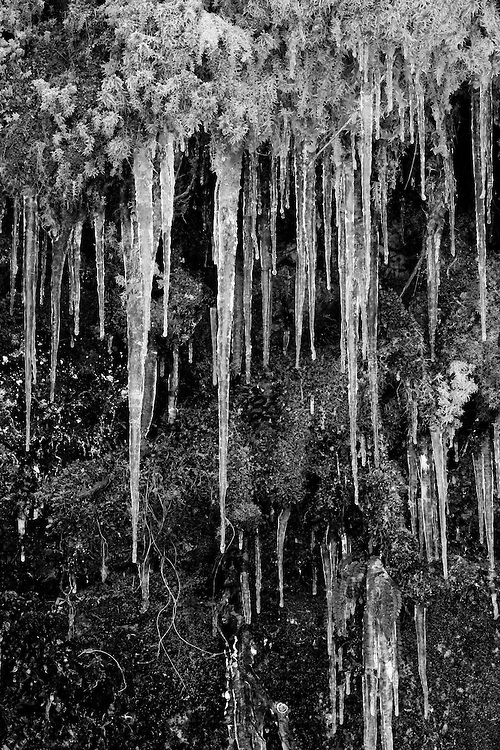 Icicles taken in Morzine France