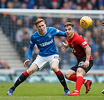 05.05.2018 Rangers v Kilmarnock: David Bates and Eamonn Brophy
