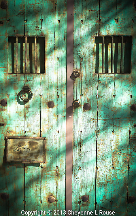 Turquoise Gate - Arizona (vertical)