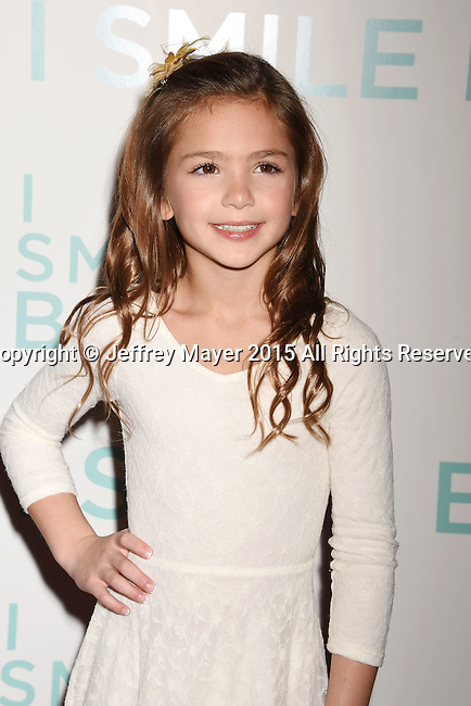 HOLLYWOOD, CA - OCTOBER 21: Actress Shayne Coleman arrives at the premiere of Broad Green Pictures' 'I Smile Back' at ArcLight Cinemas on October 21, 2015 in Hollywood, California.