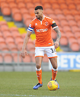 Blackpool's Curtis Tilt<br /> <br /> Photographer Kevin Barnes/CameraSport<br /> <br /> The EFL Sky Bet League One - Blackpool v Walsall - Saturday 9th February 2019 - Bloomfield Road - Blackpool<br /> <br /> World Copyright © 2019 CameraSport. All rights reserved. 43 Linden Ave. Countesthorpe. Leicester. England. LE8 5PG - Tel: +44 (0) 116 277 4147 - admin@camerasport.com - www.camerasport.com