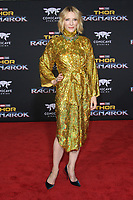 HOLLYWOOD, CA - OCTOBER 10: Cate Blanchett at the world premier of Marvel Studios&rsquo; Thor: Ragnarok  in Hollywood, California on October 10, 2017. <br /> CAP/MPIFS<br /> &copy;MPIFS/Capital Pictures