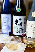 Sake sommelier and communicator Natsuki Kikuya, The Rosebery, Mandarin Oriental Hyde Park, London, UK, August 19, 2014.