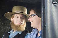 Sex Drive (2008) <br /> Clark Duke &amp; Seth Green<br /> *Filmstill - Editorial Use Only*<br /> CAP/MFS<br /> Image supplied by Capital Pictures
