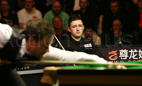 3rd February 2019, Berlin, Germany; Snooker Berlin German Masters in Tempodrom;  Final between Kyren Wilson and  David Gilbert