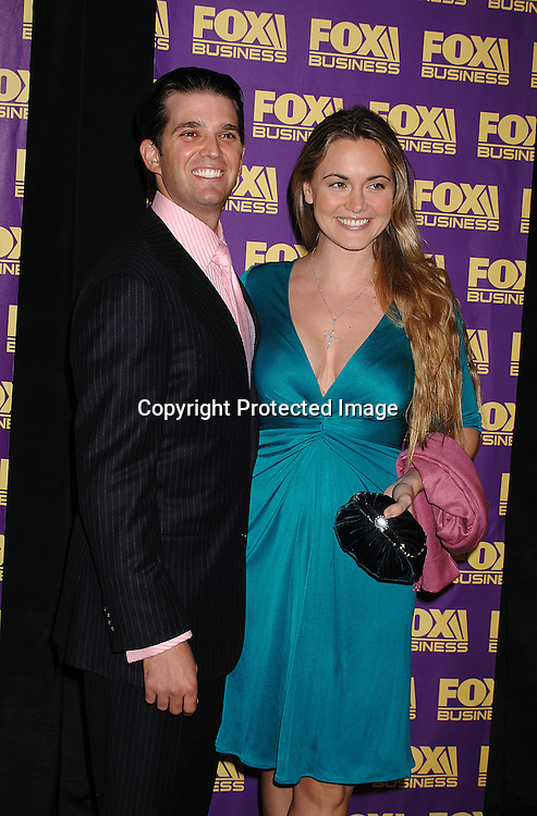 Donald Trump, Jr and wife Vanessa Hayden..at The Fox Business Network's launch Party on October 24, 2007 at The Metropolitan Museum of Art's Temple of Dendur in New York. ..Robin Platzer, Twin Images..212-935-0770