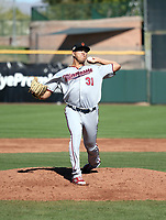 Andrew Vasquez - Surprise Saguaros - 2017 Arizona Fall League (Bill Mitchell)