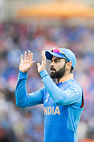 Virat Kolli (India) during India vs Australia, ICC World Cup Cricket at The Oval on 9th June 2019