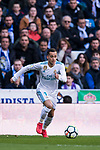 Lucas Vazquez of Real Madrid in action during the La Liga 2017-18 match between Real Madrid and Deportivo Alaves at Santiago Bernabeu Stadium on February 24 2018 in Madrid, Spain. Photo by Diego Souto / Power Sport Images
