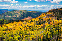FALL- HWY  143- CEDAR BREAKS- BRIAN HEAD, UTAH