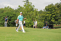 D.A. Points (USA) departs the 9th tee during Friday's round 2 of the PGA Championship at the Quail Hollow Club in Charlotte, North Carolina. 8/11/2017.<br /> Picture: Golffile | Ken Murray<br /> <br /> <br /> All photo usage must carry mandatory copyright credit (&copy; Golffile | Ken Murray)