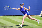 June 18th 2017, Edgbaston Priory Club; Tennis Tournament; Aegon Classic Birmingham; Sunday Qualifiers; Tereza Smitkova beats Ankita Raina in qualification