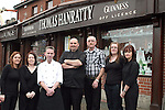 Staff of Thomas Hanrattys...Photo NEWSFILE/Jenny Matthews.(Photo credit should read Jenny Matthews/NEWSFILE)....This Picture has been sent you under the condtions enclosed by:.Newsfile Ltd..The Studio,.Millmount Abbey,.Drogheda,.Co Meath..Ireland..Tel: +353(0)41-9871240.Fax: +353(0)41-9871260.GSM: +353(0)86-2500958.email: pictures@newsfile.ie.www.newsfile.ie.FTP: 193.120.102.198.