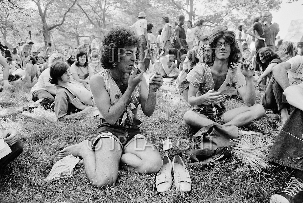 Manhattan, New York City, NY. June 27th, 1971.<br />